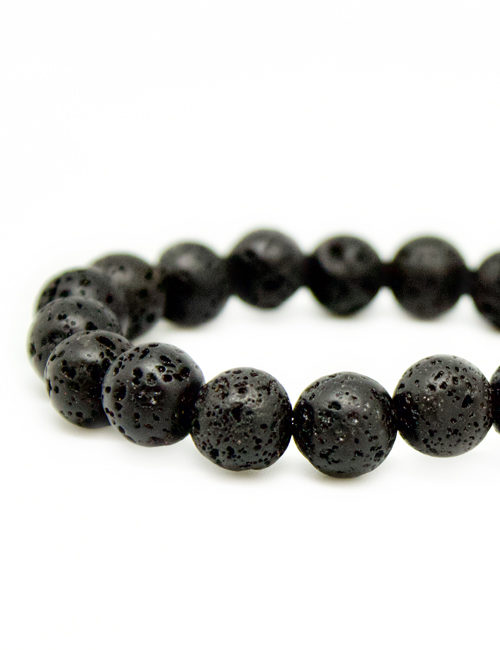 My Intention Black Mala Stone Bracelet