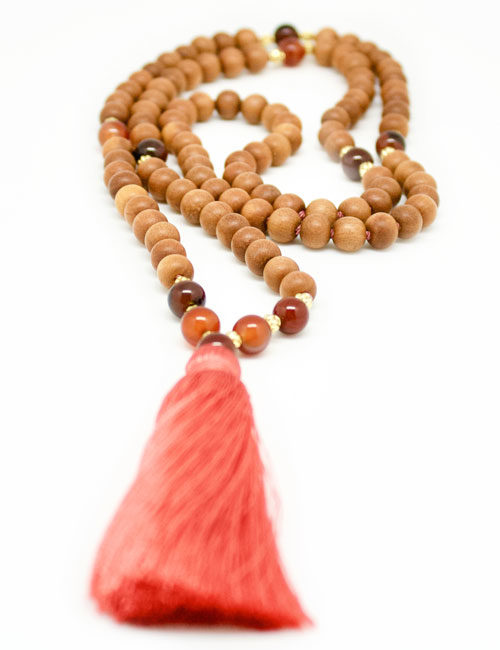 my intention mala necklace unique