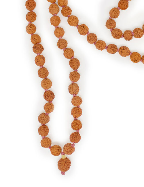 My Intention Rudraksha Mala Necklace Beads