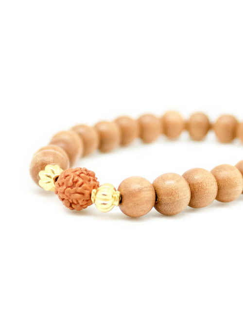 my intention INTENTION bracelet rudraksha
