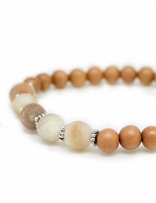 My Intention Eternity Mala Bracelet Beads