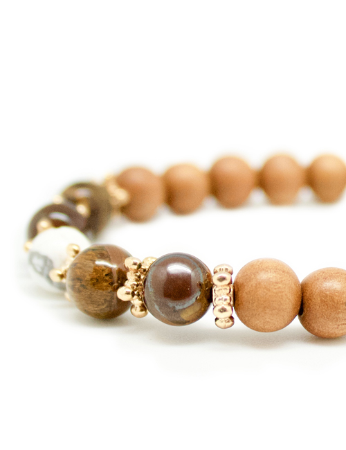 My Intention Confiance Mala Bracelet Beads