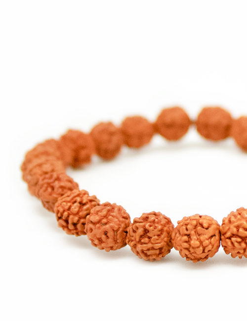 My Intention Rudraksha Mala Bracelet Beads